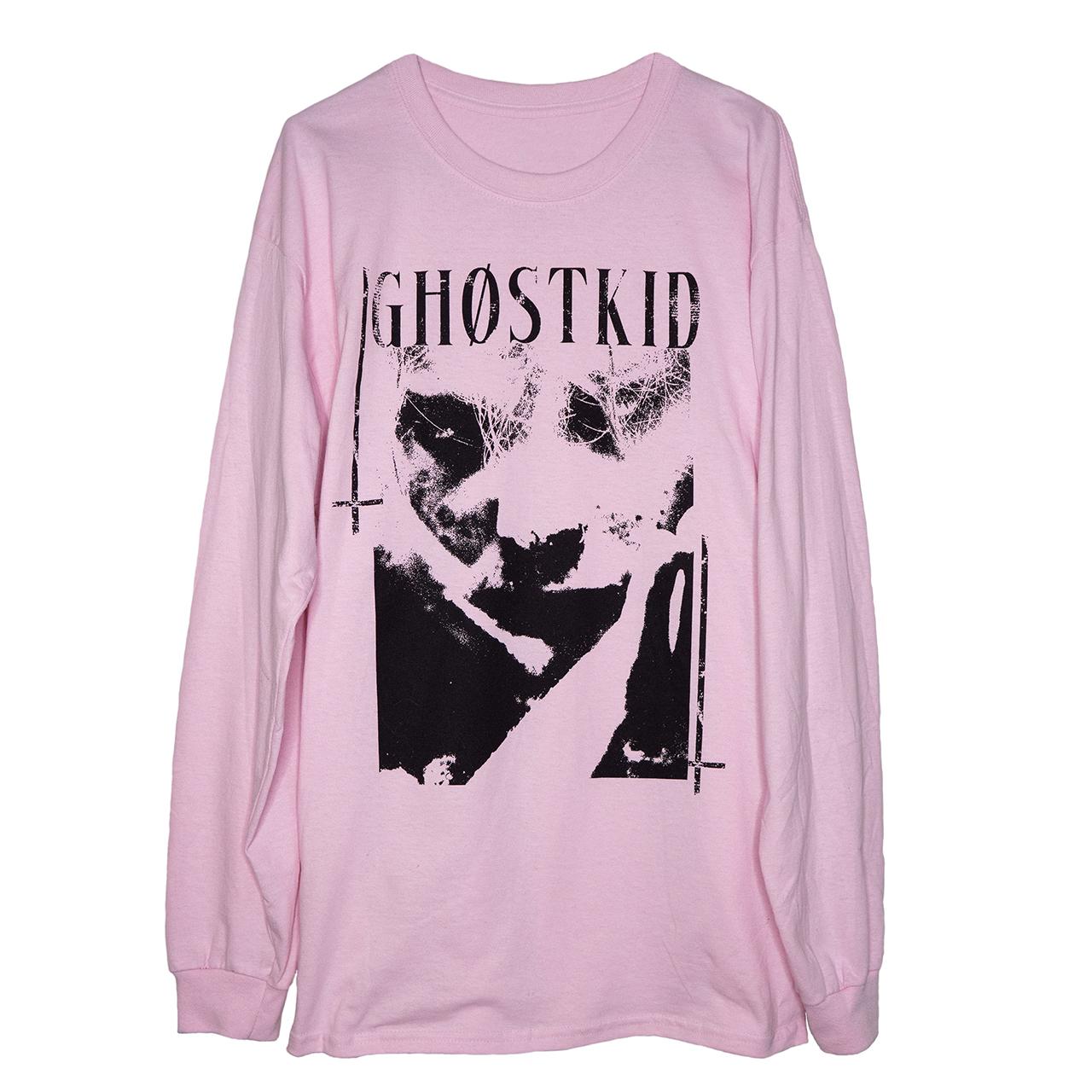 GHOSTKID Ghøstkid - Pink Longsleeve Longsleeve, pink