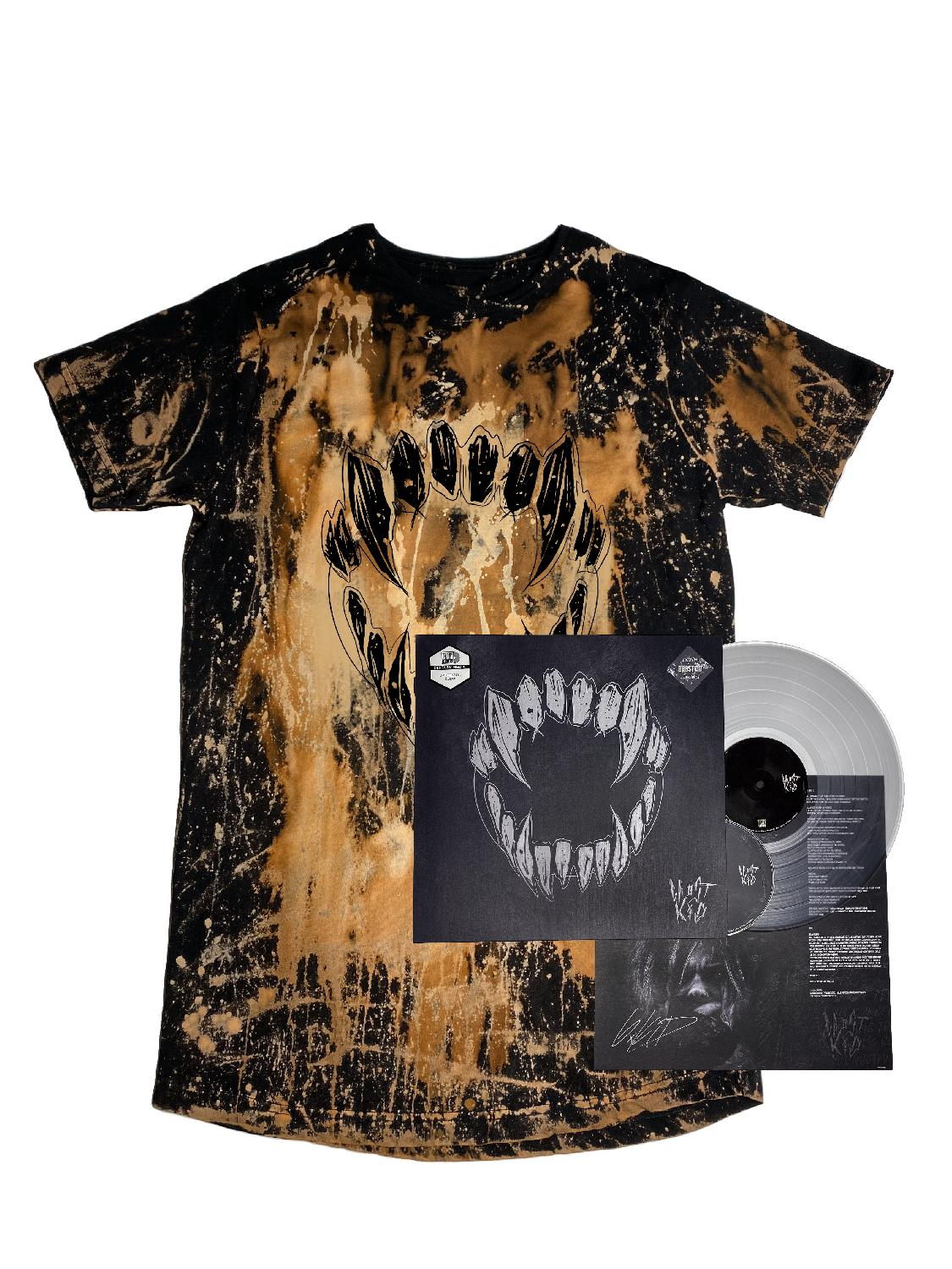 GHOSTKID PREORDER Ghøstkid - LIMITED VINYL PACKAGE Bundle, black